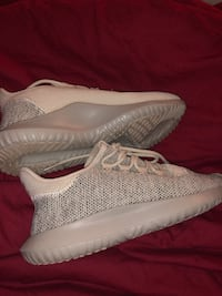 pair of gray adidas Yeezy Boost 350 shoes Shirley, 11967