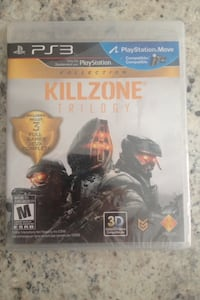 PS3 (move) KillZone Trilogy Brand New In Package