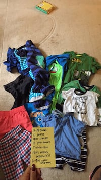 toddler's assorted-color clothes lot Springfield, 22151