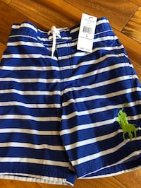 Boys size 6 Polo Ralph Lauren swim trunks- new with tags Wake Forest, 27587