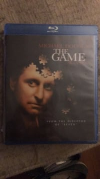 Unopened Blu-Ray of 'The Game' with Michael Douglass Sterling, 20164