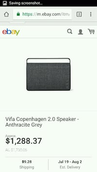 Brand new!! VIFA COPENHAGEN 2 BEST Speaker EVER! Vancouver, 98664