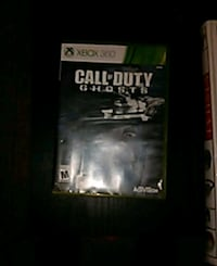 Xbox 360 Call of Duty Ghosts case Los Angeles, 91402