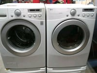 white LG front-load washer and dryer set Elkhart, 46516