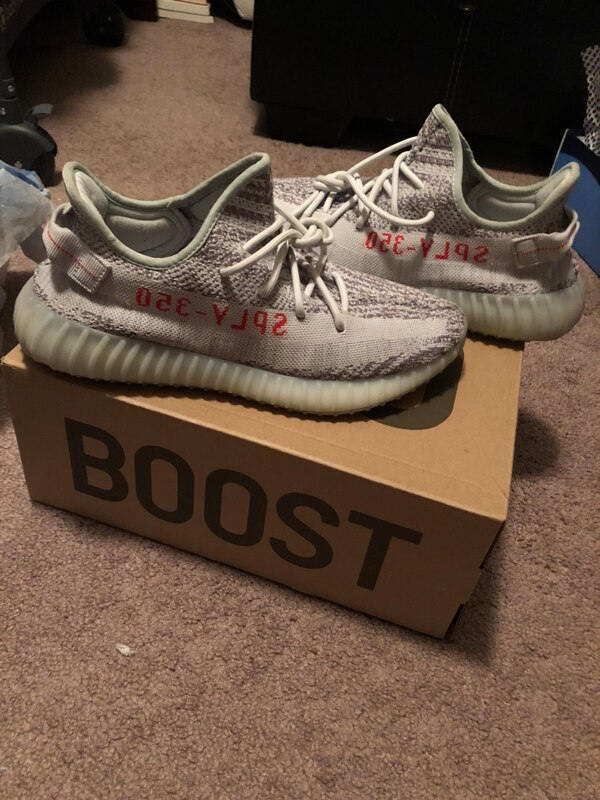 """eefdbf18b4716 Used Yeezy 350 boost V2 """"Blue Tint"""" Size 10.5 for sale in Myrtle Beach"""