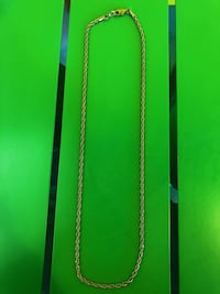 18K GOLD PLATED CHAIN 22 INCHES Boston, 02109