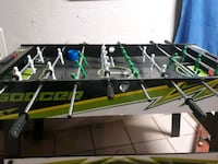 black and green foosball table Evansville