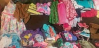 GIRLS CLOTHES LOT 6X TO 8  North Miami, 33161