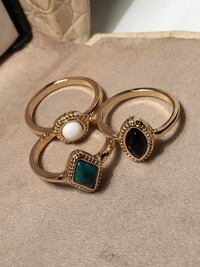 New rings (size 6) $7 for all!! Edmonton, T6E 0R2