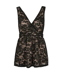 Brand New Lace Sleeveless Party Top