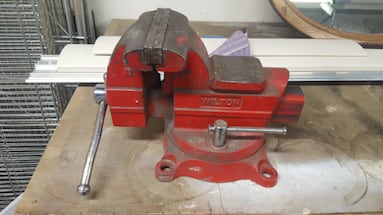 Wilton 6 1/2in machinist vise