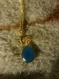 New blue chalcedony necklace Tucson, 85746