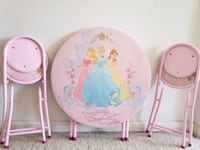 Disney Table and Chairs. Elk Grove, 95624