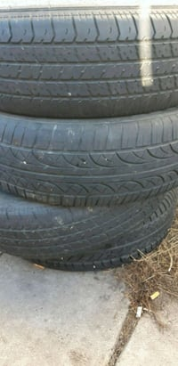 70R15 tires for the set I'm asking 80.. OBO 3120 km