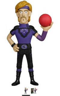 """If you dodge a wrench, you can dodge a ball""-Dodgeball Funko Vinyl Idolz 8"" Vinyl Figure: White Goodman Toronto, M1E 1G5"