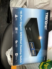 BRAND NEW Trendnet 16 port Ethernet switch still in original packaging Vaughan, L6A 3R9