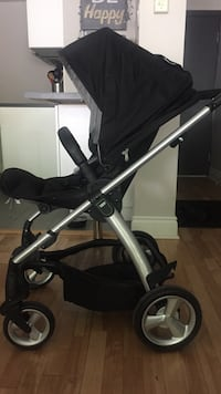 baby's black and gray stroller Montréal, H3W