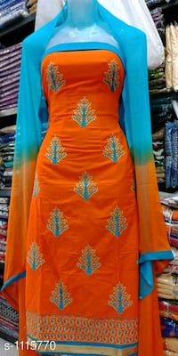 women's red and blue floral dress Mumbai, 400005