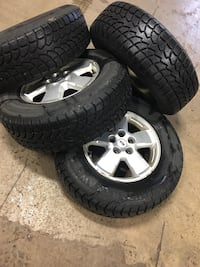 235/70R16 Winter Claw Extreme Grip on OEM Ford Rims Pickering, L1Y 1C8