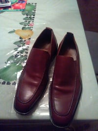 pair of brown leather loafers Boston, 02132