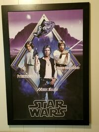 Star Wars poster Lubbock, 79407