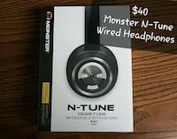 Brand new, sealed WIRED Monster N-Tune Headphones Vaughan, L4L 8K5