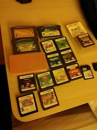 Assorted DS games 68 km