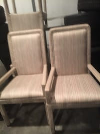 two brown wooden framed armchairs Springfield, 62703