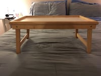 rectangular brown wooden coffee table 26 mi