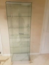 Beautiful Glass Cabinet Sterling