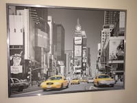 Times Square framed picture