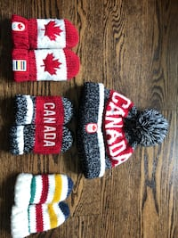 Infant Olympic Hat with Mitts Toronto, M9A 3W9