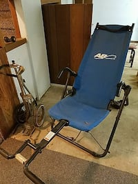 blue and black AB Lounge 2 inversion table Orange City, 51041