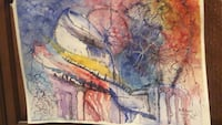 multicolored abstract painting 385 mi