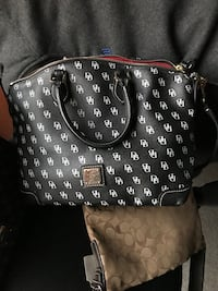Black and white leather dooney and bourke handbag Randallstown, 21133