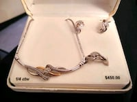 Women's 3piece set 1/4 CT retail value is over $400. Los Angeles, 90023
