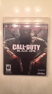 Call of duty black ops ps3 game  Alexandria, 22304