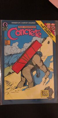 Concrete 9 Comic book