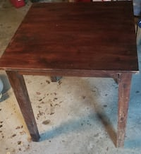 Solid wood table CHICAGO