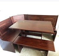 brown wooden desk with hutch Temple Hills, 20748