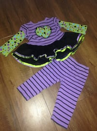 Cute little girl 2 pc. outfit, 12-18 months Port Coquitlam