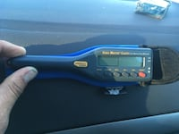 blue and black car stereo Langley