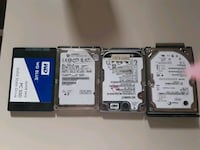 4 hard drives 75$ if you buy them all Council Bluffs, 51503
