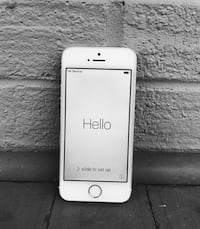 iPhone 5s (16 gb, silver) Chevy Chase, 20815