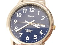 Vintage Timex Indiglo Blue Dial Watch