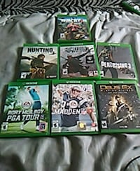 assorted Xbox One game cases Simcoe, N3Y 4K6