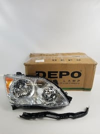 Depo 312-11B4R-ASN Headlight Assembly (TOYOTA AVALON 08-10 ASSEMBLY HALOGEN PASSENGER SIDE) Los Angeles