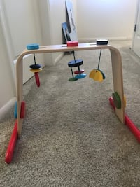 IKEA Wooden Baby activity gym