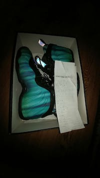 northern lights foamposite size 7y North East, 21901