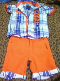 toddler's two red and blue shorts Tuscaloosa, 35401